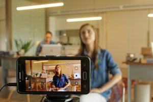Filming 300x200 - Top Video Editing Software for Smartphones