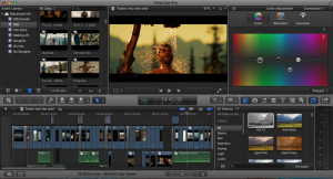Final Cut Pro X 300x162 - Top 4 Software for Video Editing