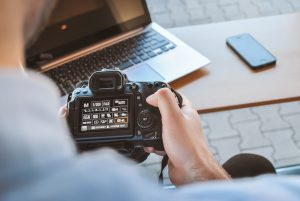 black DSLR camera 300x201 - 5 Video Editing Tips that All Video Creators Need to Know
